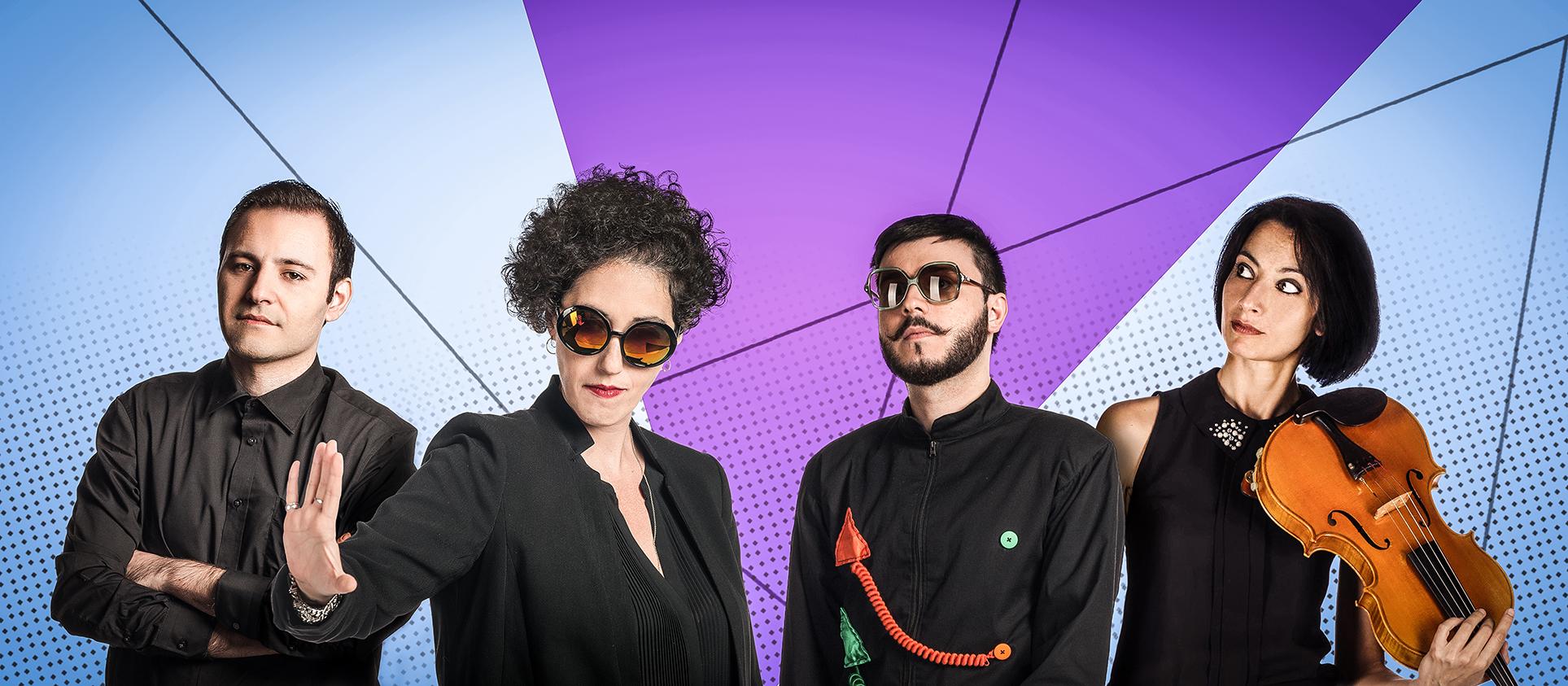 Vidra La fine delle comunicazioni Banner Technopop Francesco Frencio Fecondo Antonella Giga Gigantino Michela Coppola